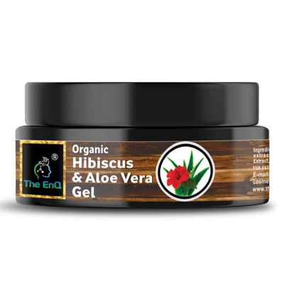 Organic Hibiscus and Aloe Vera Gel