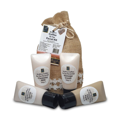 Arabica Coffee DE Tan Facial Kit