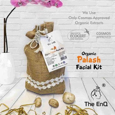 Organic Palash Facial Kit