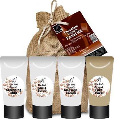 Chocolate Organic Facial Kit
