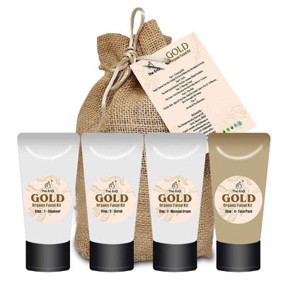 Gold Organic Facial Kit