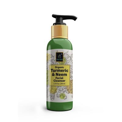 Organic Neem AND Turmeric Facial Cleanser
