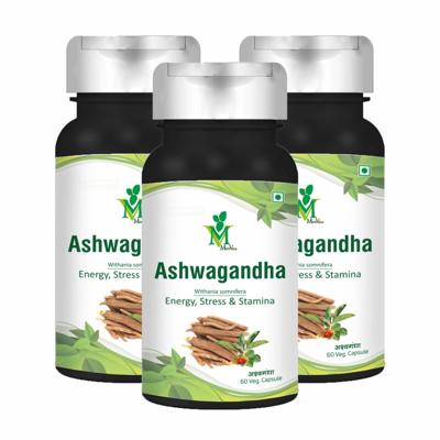 Picture of Ashwagandha Veg. 60 CapsulesPack of 3