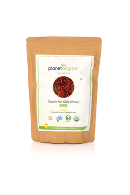 Organic Red Chili Whole