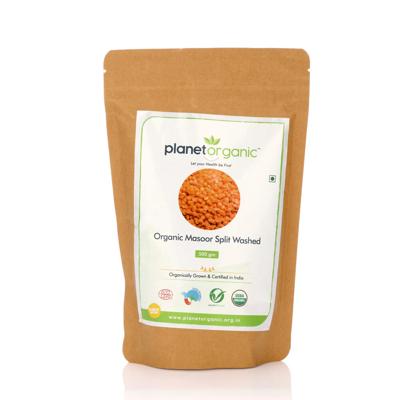 Organic Masoor