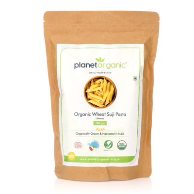 Organic Wheat Suji Pasta Penne