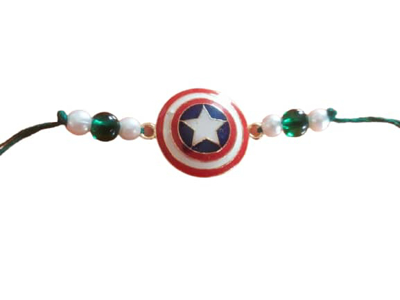 Captain America Rakhi_Jain Marketplace